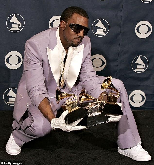Kanye West Urinates On Grammy