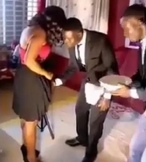 Prophet Takes Off Women Underwear
