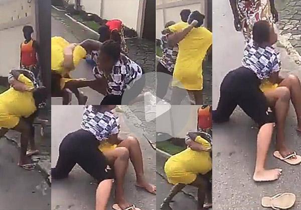Two Women Fight