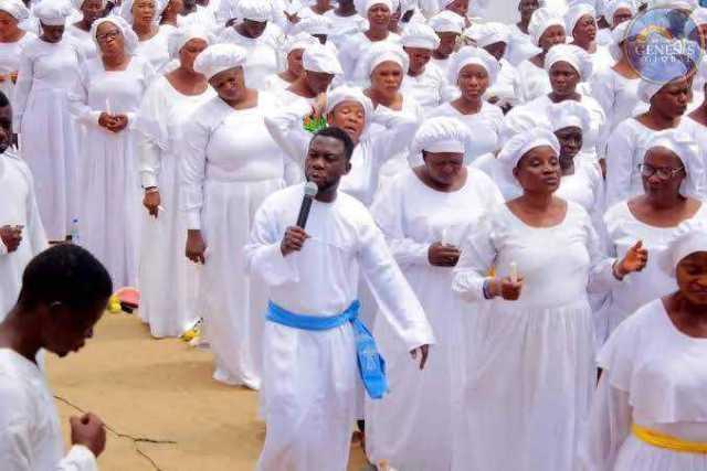 White Garment Prophet Israel