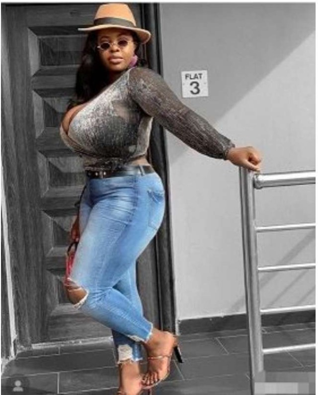 Blue Film Actress Peace Olayemi