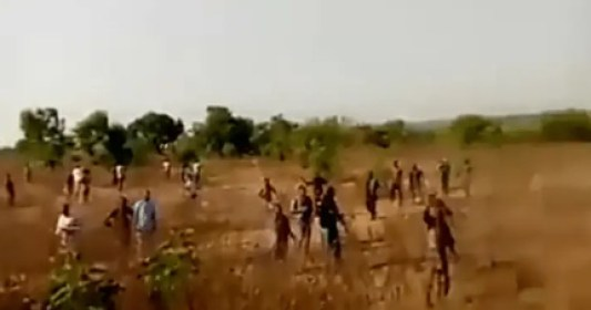 Fulani Herdsmen Take Off As Oyo State Strongman Sunday Igboho, and His Men Storm Their Hideout