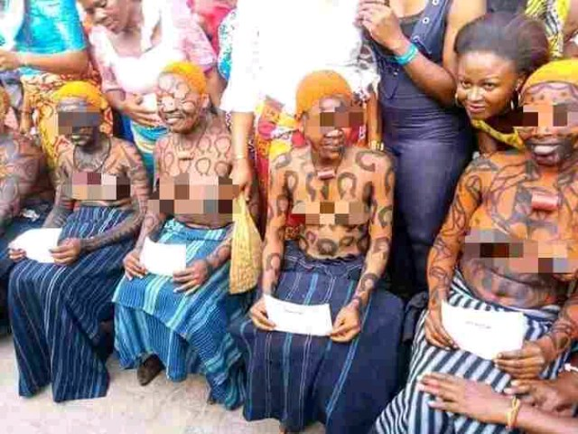 VIDEO: The Iria Festival Where Young Virgin Girl Dance N@ked in Nigeria
