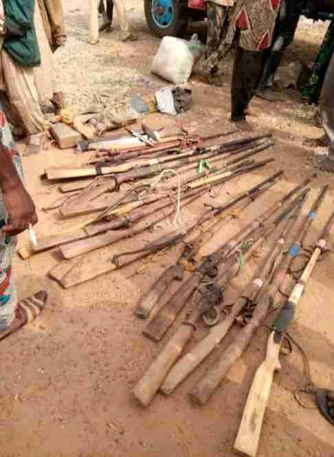 Again! Amotekun Arrests Truckload Of Herdsmen Going To Ibarapa, Recovers 25 Guns
