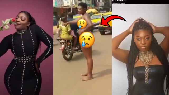 Nemesis? Female Graduate Runs Mad After Dumping the Man Who Put Her Through JHS to University (Video)