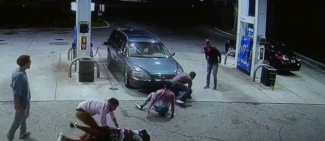 Mad ooo! Armed Robbers Attack Fuel Station, Sell Fuel For 3 Hours To Get Enough Cash