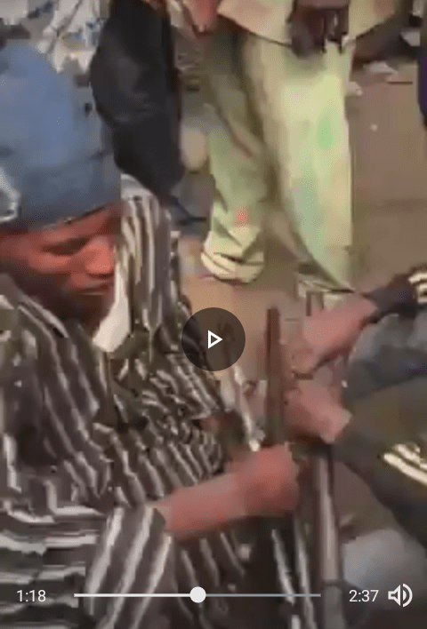 Wonder Shall Never End! Fulani Herdsmen Intercepted At Onitsha, See The Shocking Items That Were Allegedly Recovered From Them (Video)