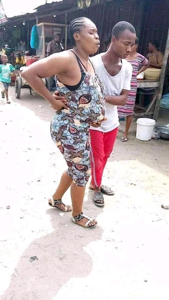 See What This Igbo Man Did To His Pregnant Wife That Stirred Reactions Online