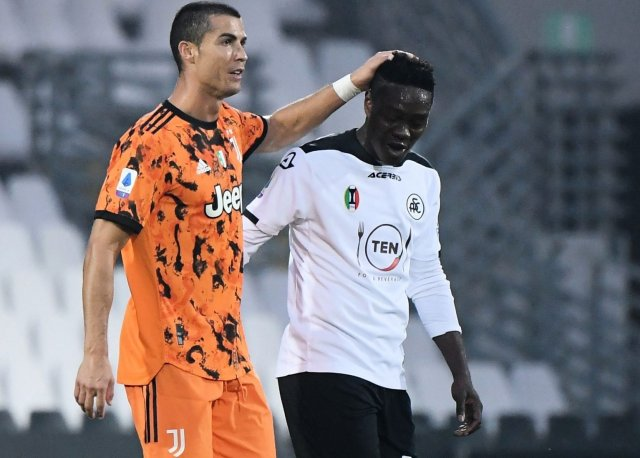 I CAN'T FORGET WHAT RONALDO DID TO ME-Ghanaian Forward, Emmanuel Gyasi
