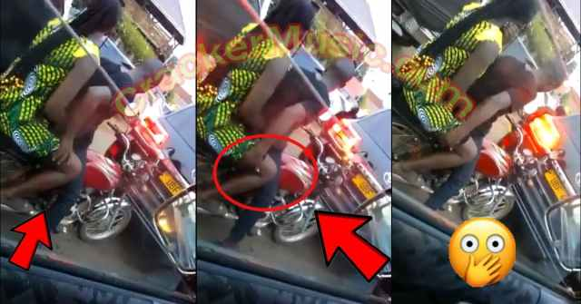 Yawa Video - See How Okada Man Tries To Fing£r A Lady In Traffic