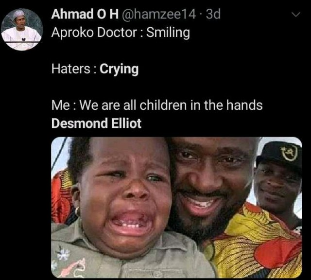 """""""Please I'll Do Better""""- Desmond Elliot CRIES OUT After Months Of Enduring Blames For Nigerian's Problem From Trolls"""