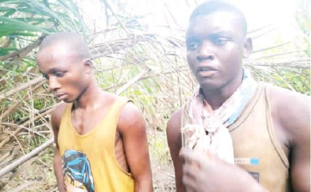 RED ALERT! Police Exhumes Six Dead Bodies Of Kidnapped Victims From A Mass Grave In Benue State