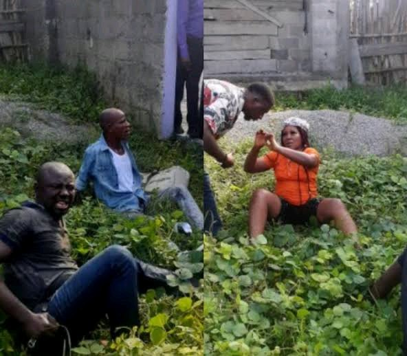 Busted!!! See The Notorious Female One Chance Robber And Her Gang Members Arrested In Port Harcourt