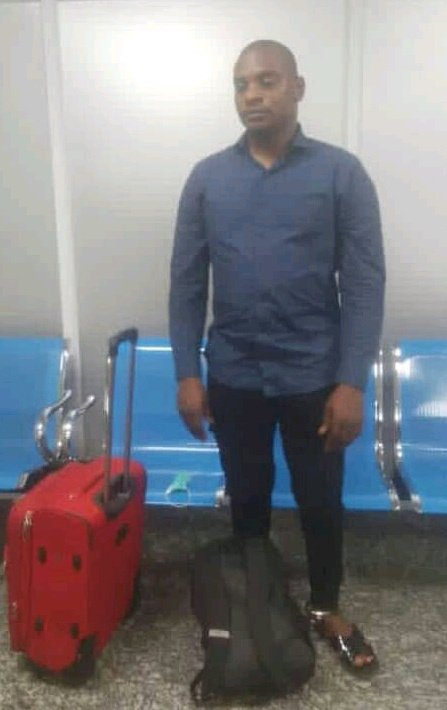 NOT AGAIN!!! Nigerian Man Arrested At Istanbul Airport With A Belly Full Of Cocaine (VIDEO)