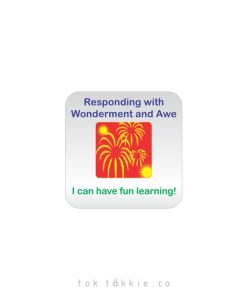 tok tokkie Teachers HOM Labels – Wonderment & Awe