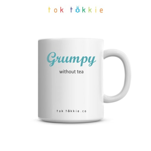 toktokkie Grumpy without tea Mug