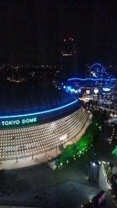 東京ドームシティホテル@夜景