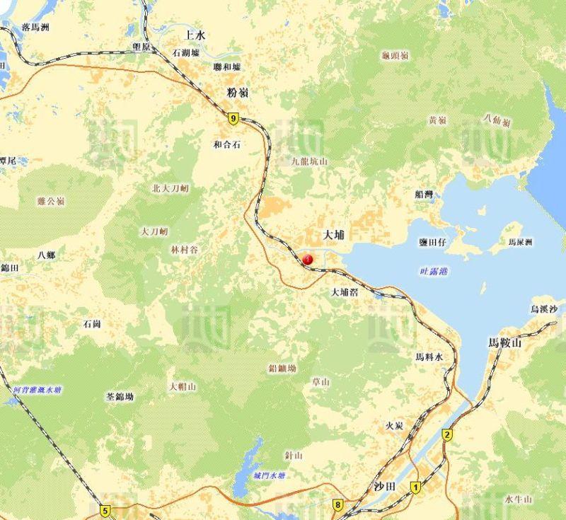 地圖-大埔墟