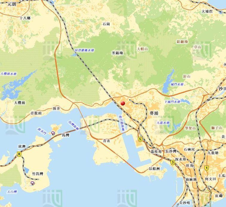 地圖-荃灣