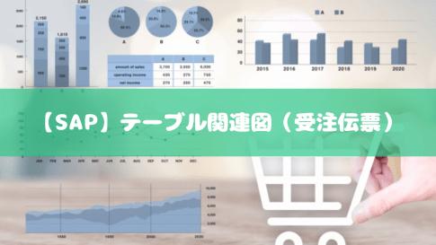 【SAP】テーブル関連図(受注伝票)