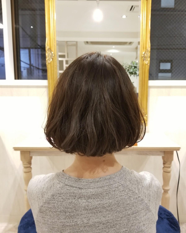 【髪がはねるのはカットのせい?】お手入れ簡単なボブスタイル可愛くておすすめです 国分寺 髪質改善 美容室 LAND