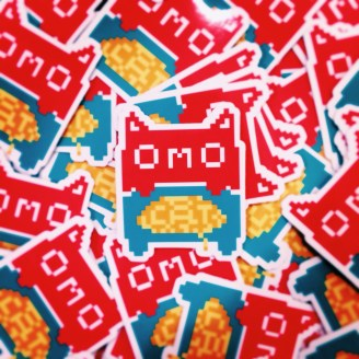 omocat-sticker