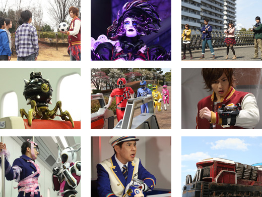 Next Week on Ressha Sentai ToQger Station 8