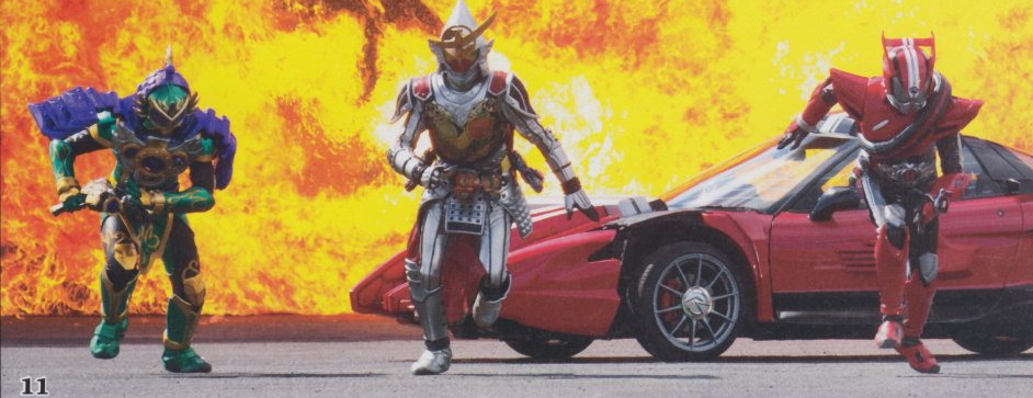 Scans Reveal New Forms Appearing In Movie War Full Throttle