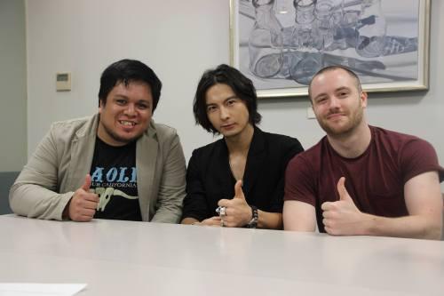 Interviewing GARO actor, Ray Fujita