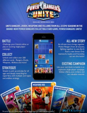 Power Rangers Unite One Sheet