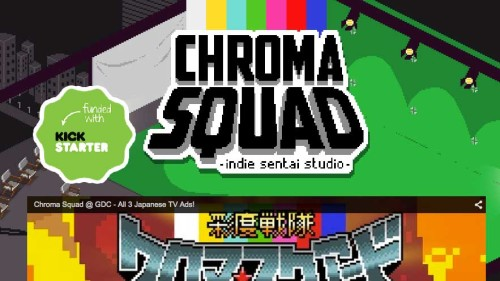 Chroma Squad Game On Schedule for April 30 Release; Receives Saban's Support