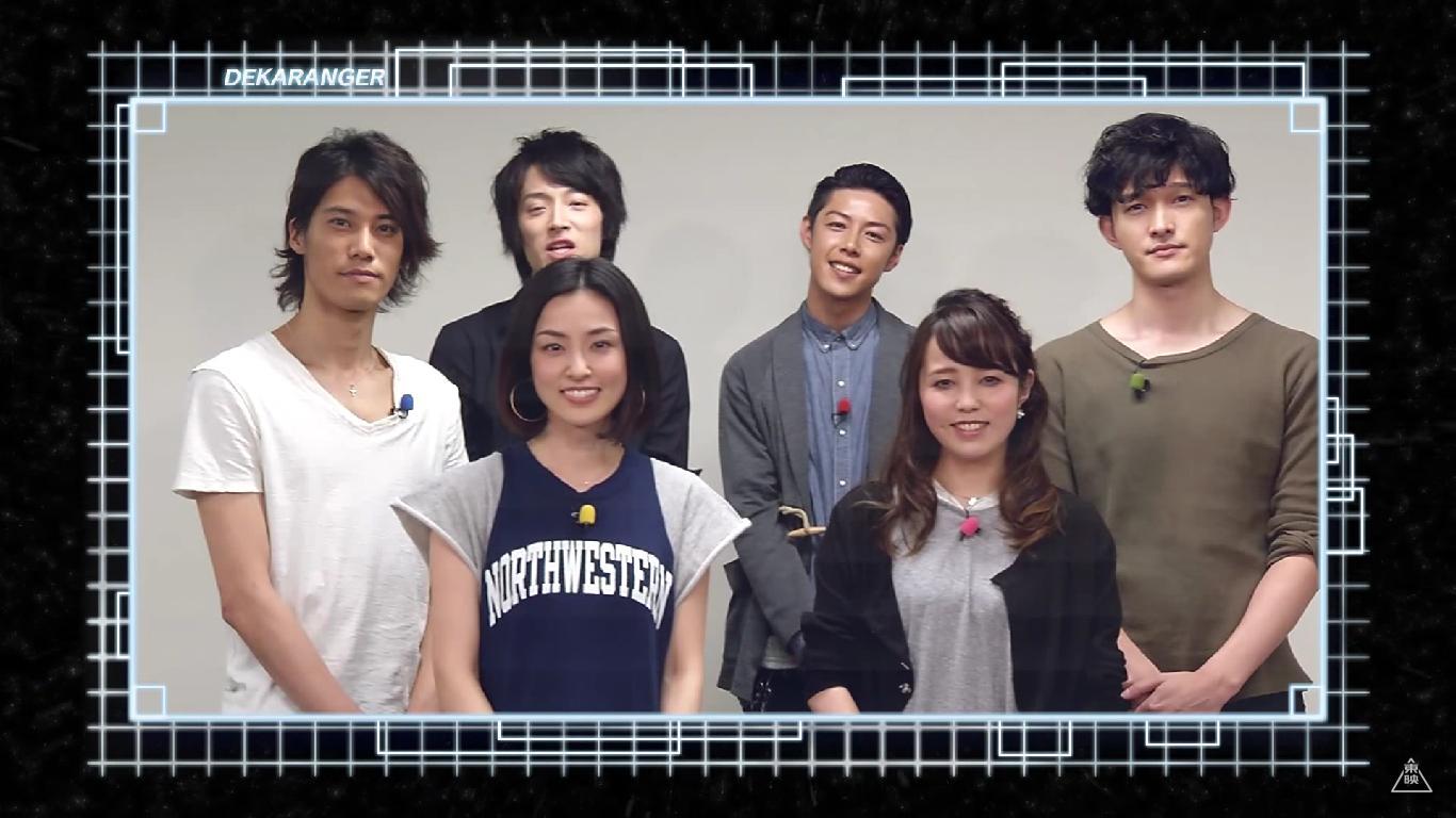 Tokusou Sentai Dekaranger Blu-rays Announced