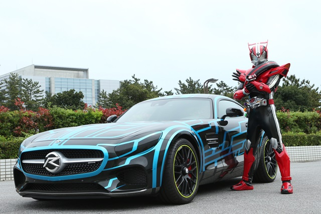 Custom Mercedes Benz to Appear in Kamen Rider Drive Movie