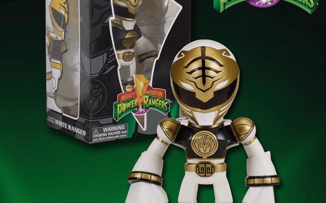 Bandai America Announces SDCC Exclusive White Ranger Tokyo Vinyl
