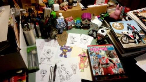 Bonnette's Desk