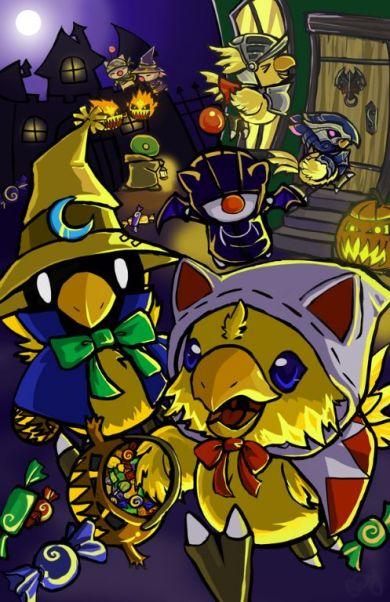 Final Fantasy Halloween