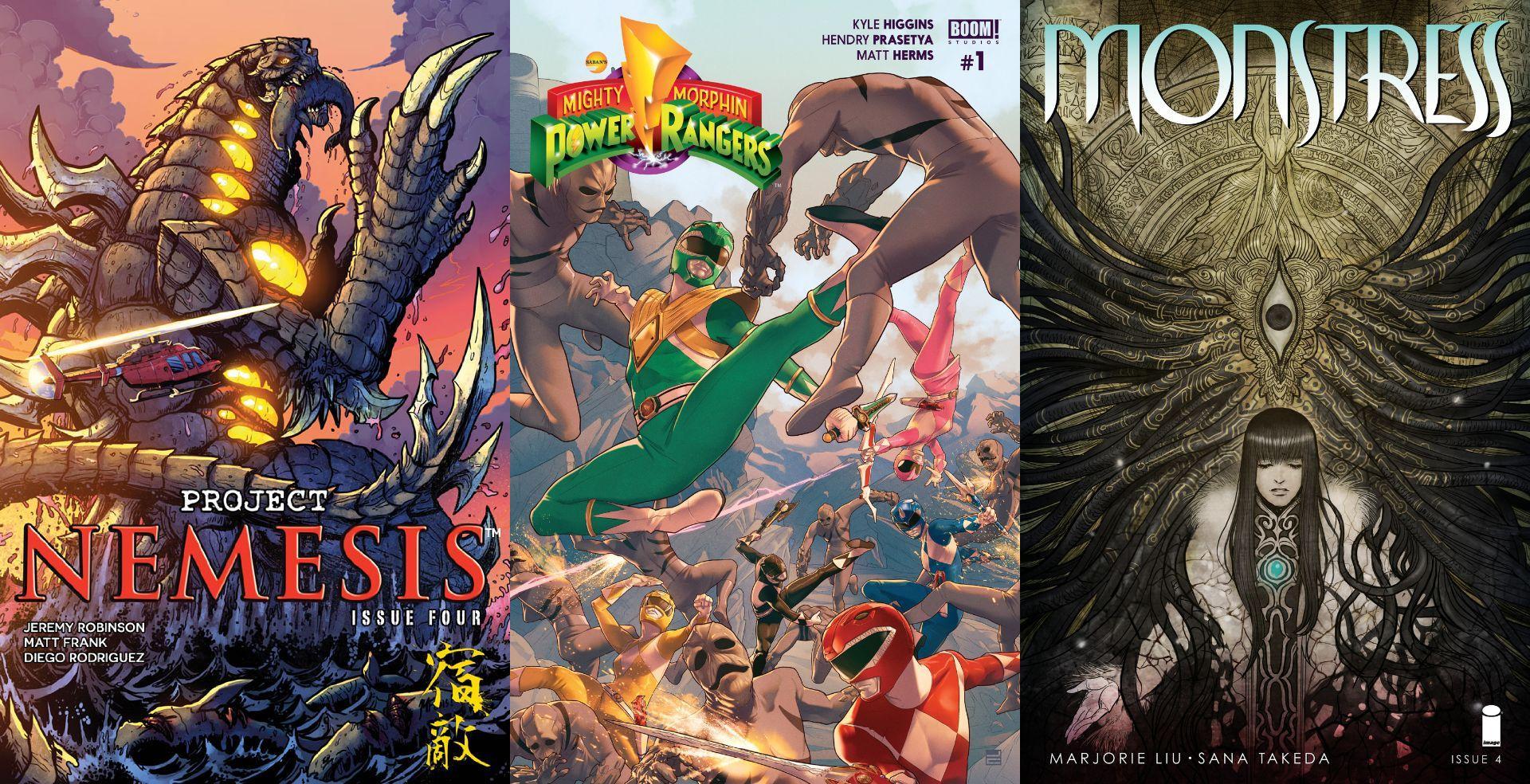 TokuNet Comics Corner: March