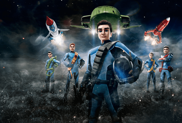 Official Trailer Released for Amazon's Thunderbirds Are Go