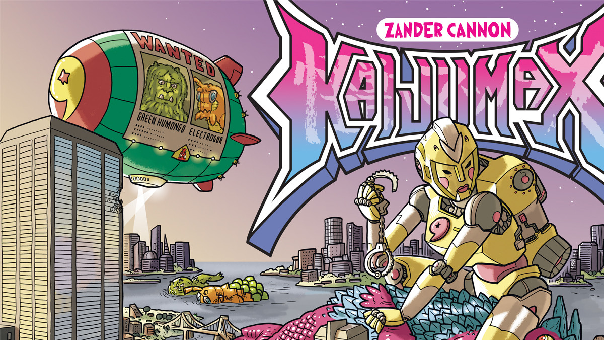 TokuNet Comics Corner: Interview with Zander Cannon
