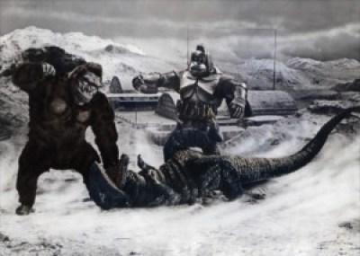 King_Kong_Escapes_Art_featuring_King_Kong_Mechani-Kong_and_Gorosaurus