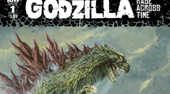 "IDW to Release ""Godzilla: Rage Across Time"" Miniseries"