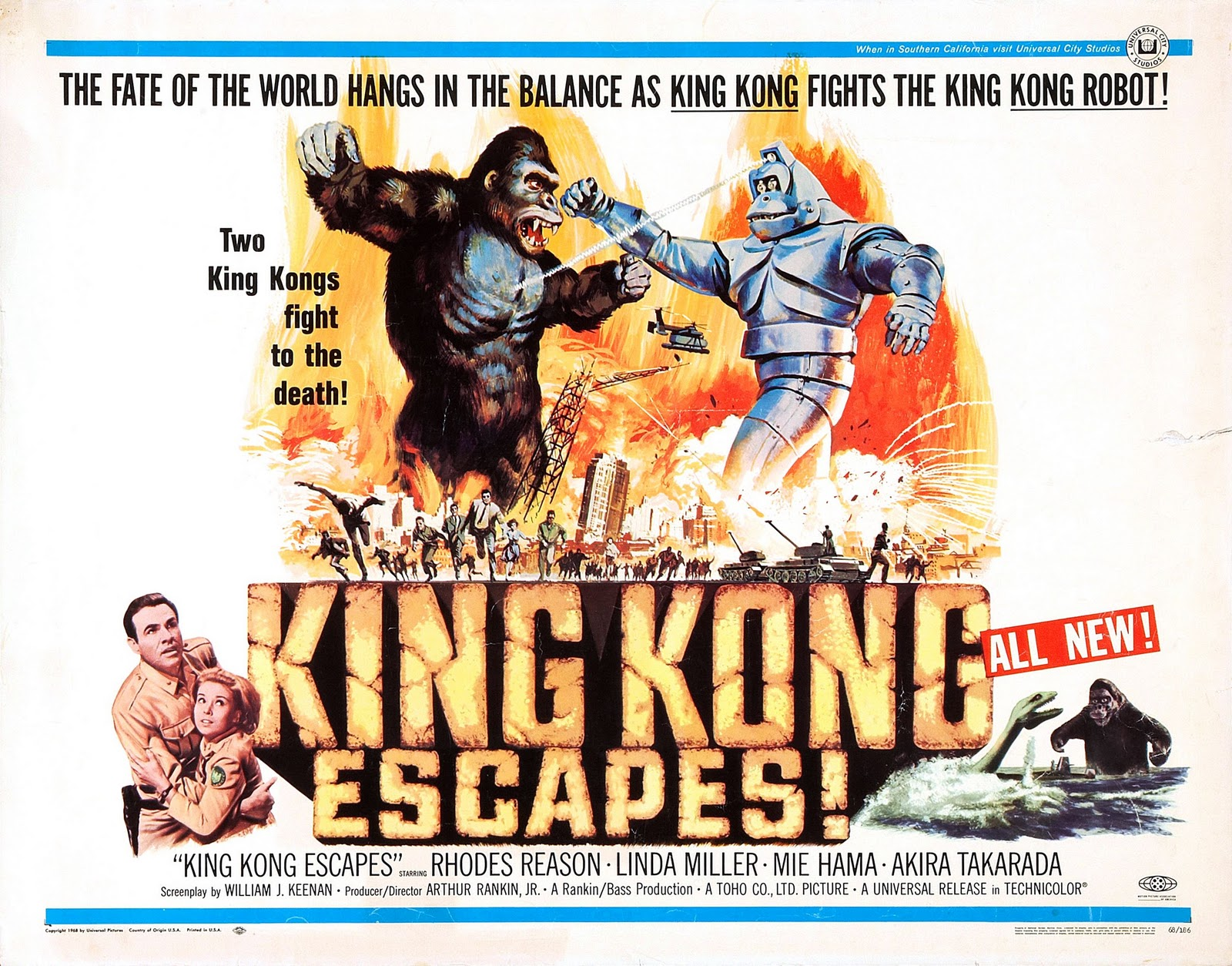 TokuNet Film Club: King Kong Escapes
