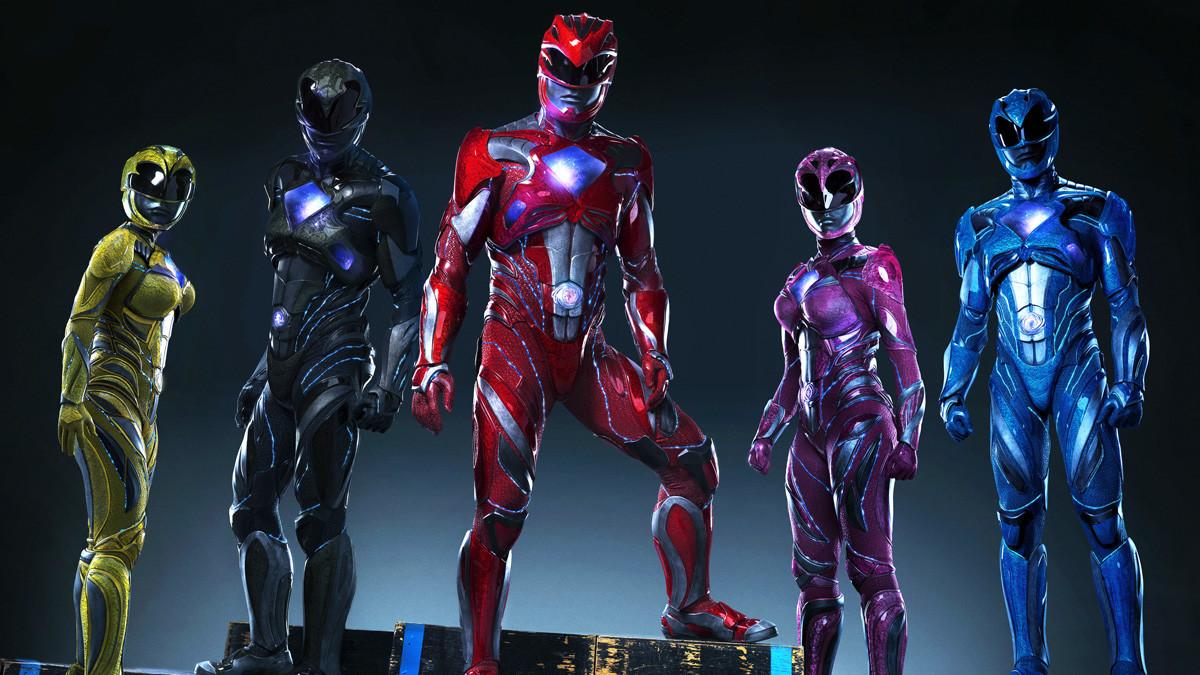 Power Rangers Movie Costumes Revealed