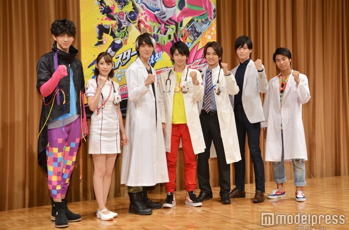 Kamen Rider Ex-Aid Cast and Story Revealed at Press Conference