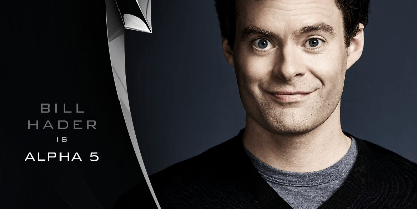 Bill Hader Announced as Voice of Alpha 5 for 2017 Power Rangers Movie