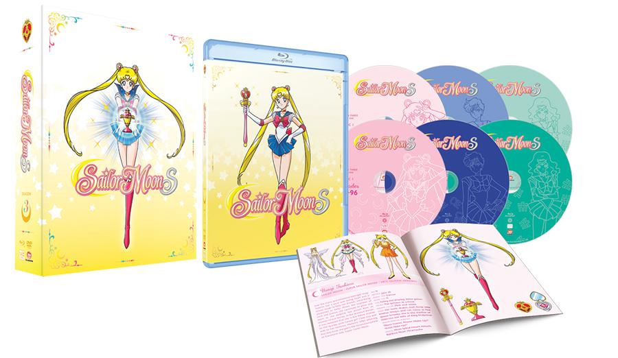 VIZ Media Releases First Set of Sailor Moon S