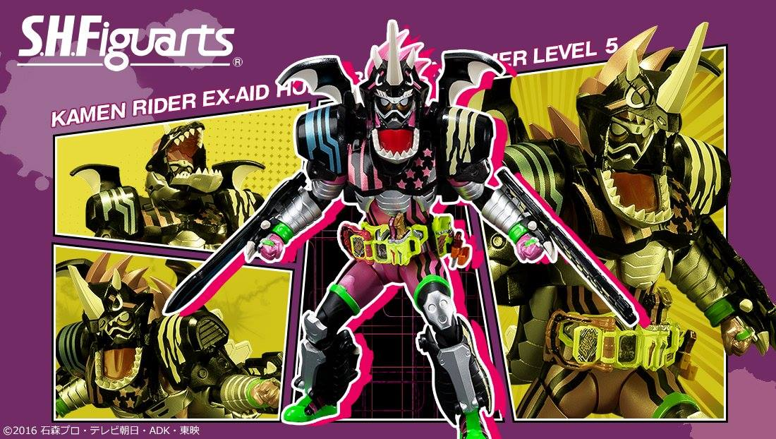Tamashii Nations Announces S.H.Figuarts Kamen Rider Ex-Aid Hunter Action Gamer Level 5