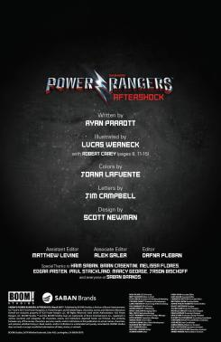 Saban's Power Rangers - Aftershock_Preview_1