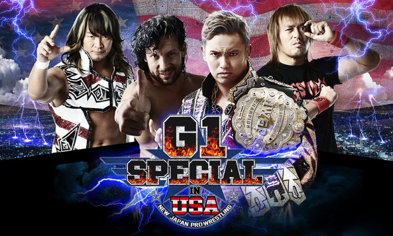 "Additional Seating Opens for New Japan Pro Wrestling ""G1 Special in the USA"""