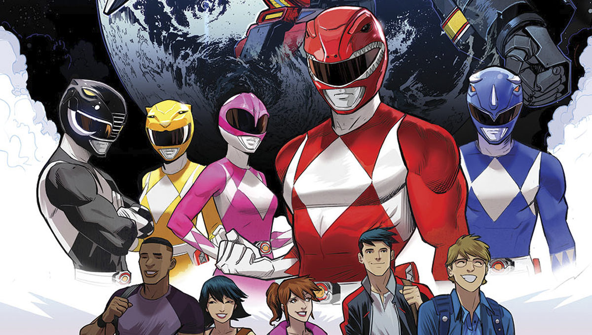 Go Go Power Rangers Comic Coming This July